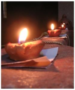 Mandatory artsy picture from karthigai deepam 2008