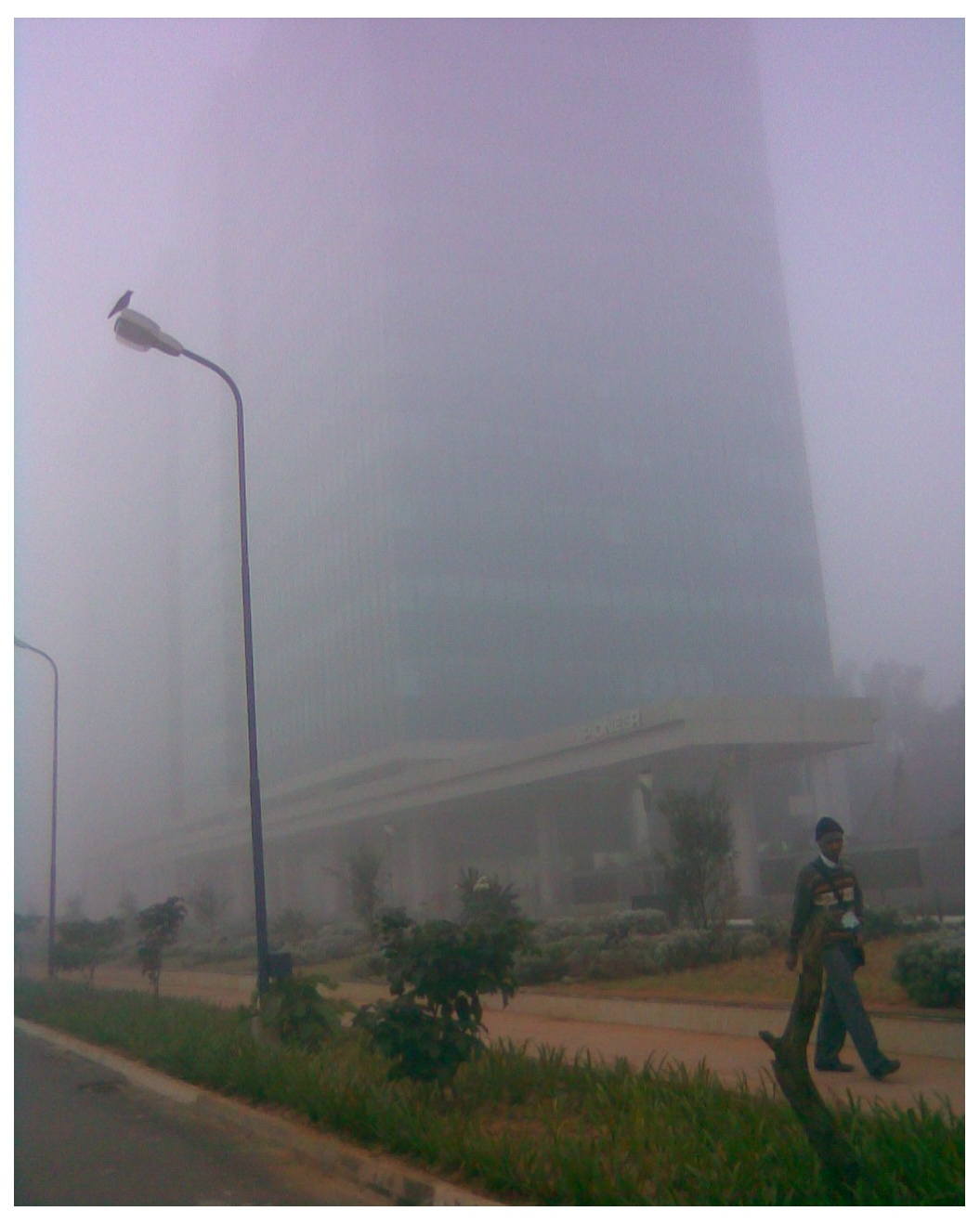 The 'Creator' building (TCS) in ITPL - barely visible.