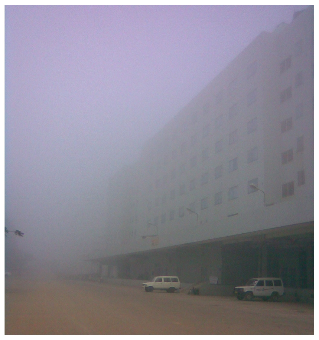 Bus bay, ITPL - there are two further buildings beyond what is visible
