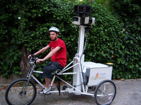 A Google Trike
