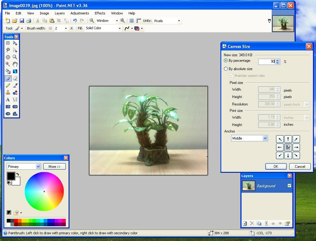 Tutorial how to add borders using paint moulis blog click to enlarge baditri Image collections